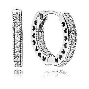 🥂Pandora earring 925 silver